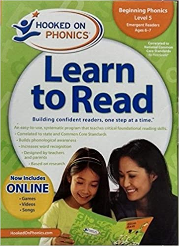 Book Hooked On Phonics Beginning Phonics Level 5 Emergent Readers Age 6-7 (Hooked on Phonics: Level 1) (2009-05-01)