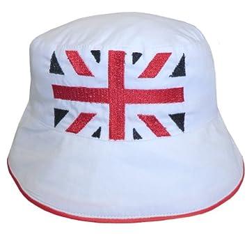 Amazon.com: Powell Craft Union Jack bebé gorro sombrero de ...