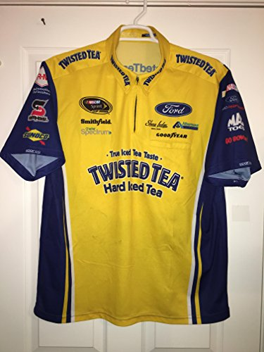 XL Marcos Ambrose Sparco Nascar Petty Pit Crew Shirt Ford Racing Twisted Tea Australia Champ Car Race Used 1/4 ZIP Jersey Sports - Shop Ford Australia
