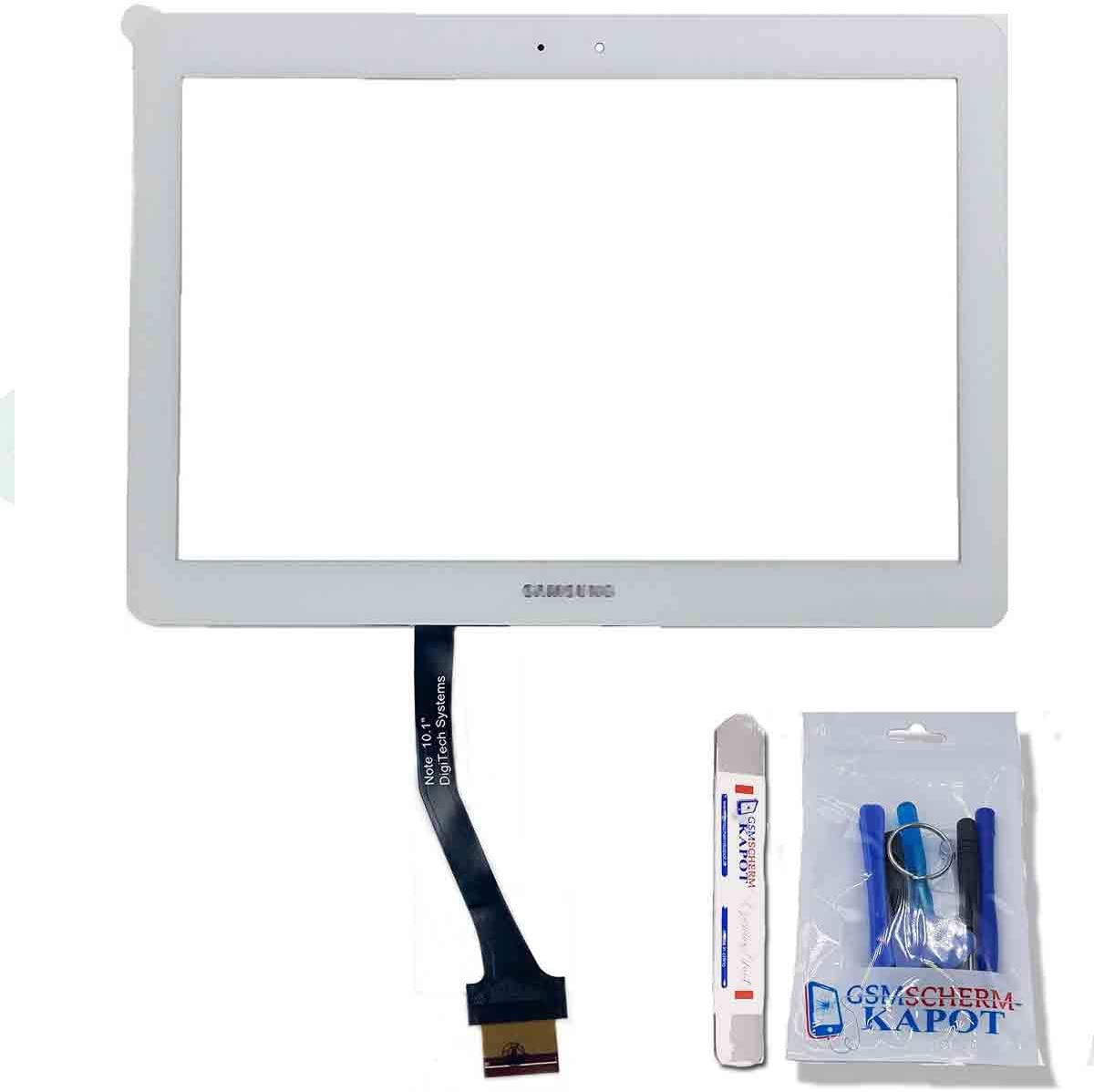 White Samsung Galaxy Note 10.1 GT-N8000 N8010 N8013 Touch Screen Digitizer Glass