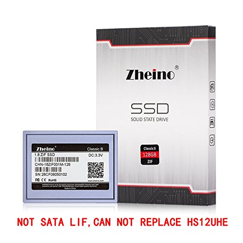 Zheino 1.8 Zif Ce 40Pins 128GB SSD Solid State Drive