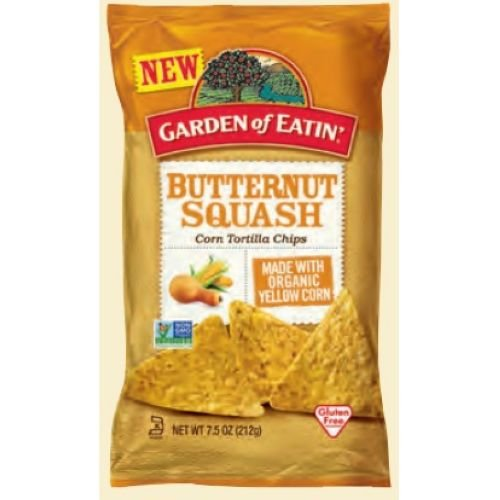 Garden of Eatin Butternut Squash Chips, 7.5 Ounce - 12 per case.