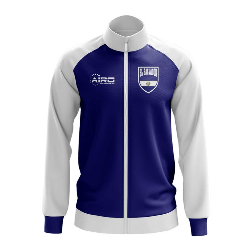 Airo Sportswear EL Salvador Concept Football Track Jacket (Blau) - Kids