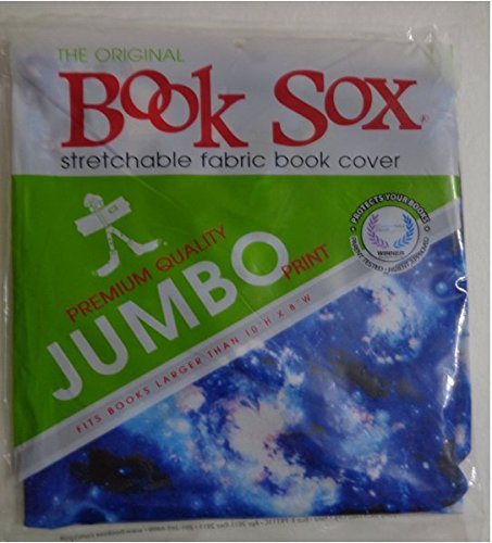 Fabric Book Covers Jumbo : Book sox the original stretchable jumbo cover