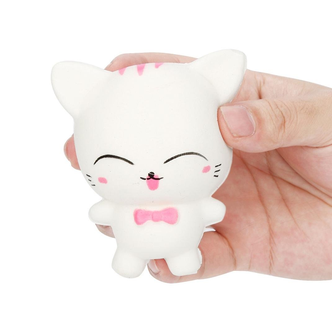 TiTCool_toy Funny Squeeze Squishy Cartoon Cat Slow Rising Scented Relieve Stress Toy Gifts by TiTCool_toy (Image #1)