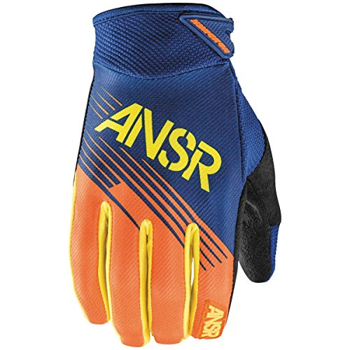 (Answer Racing Syncron Youth Boys Off-Road Motorcycle Gloves - Orange/Yellow / Medium)