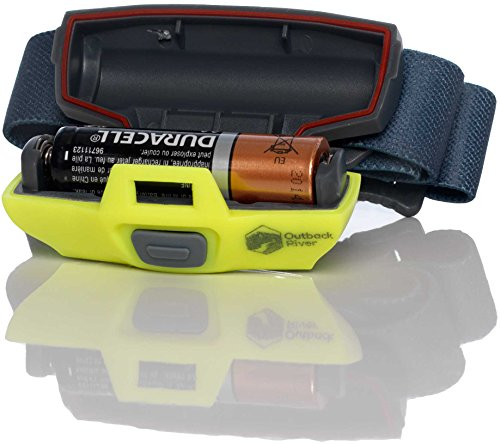BrightSpark Compact LED Headlamp, Water Resistant, Powerful for its Size, Single AA, Slips Easily Into Your Pocket. Best for Hiking, Running, Camping, Fishing, Hunting, Kids, Reading.