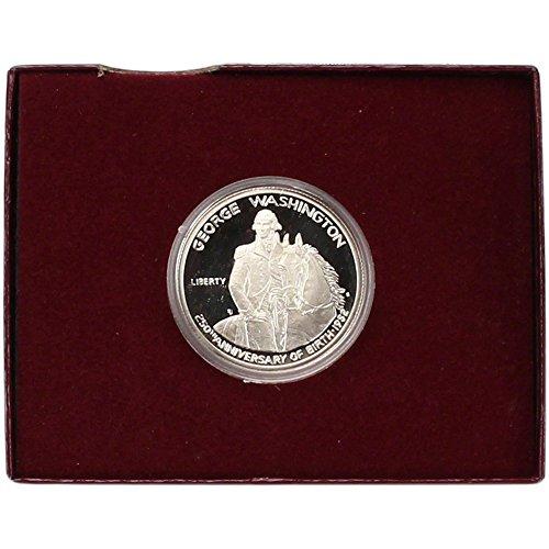 1982 S US Commemorative Proof Silver Half Dollar George Washington 50C OGP (Half Dollar Us Silver Coin)