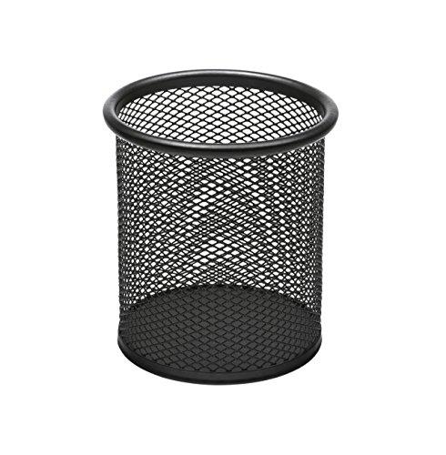 Osco PP1-BLK - Portalapices de malla metalica, color negro
