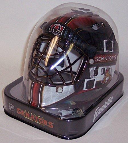 New Ottawa Senators Franklin Sports Mini Hockey Goalie Mask - NHL