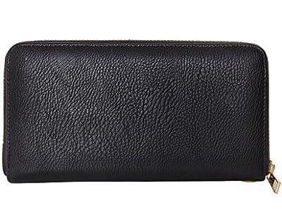 Humble Chic Zip Around Wallet - Vegan Leather Credit Card Holder Wristlet Clutch