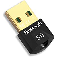 Adaptador Bluetooth para PC, Bluetooth USB, Bluetooth 5.0 USB Dongle Admite Windows Vista 7/8/8.1/10, Plug and Play…