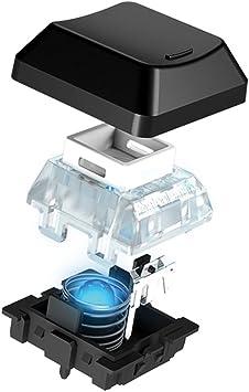 SteelSeries Apex M800 - Teclado para Juego, mecánico, iluminación ...