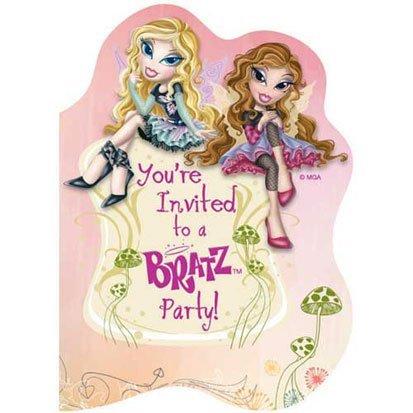 (Bratz Fashion Pixiez Invitations 8ct by Party America )