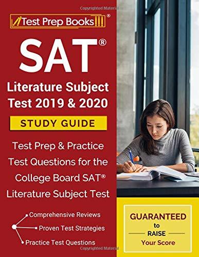 Pdf Test Preparation SAT Literature Subject Test 2019 & 2020 Study Guide: Test Prep & Practice Test Questions for the College Board SAT Literature Subject Test