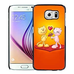 New Personalized Custom Designed For Samsung Galaxy S6 Phone Case For Cats Love Phone Case Cover