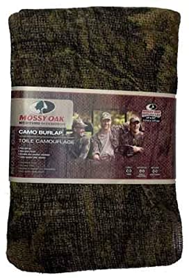 Mossy Oak Camo Burlap