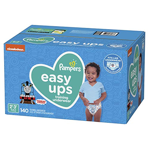 Pampers Easy Ups Training Underwear Boys Size 4 2T-3T 140 Count