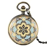 Creative Pocket Watch, Mechanical Hand Winding Pocket Watch, Gifts for Men Women