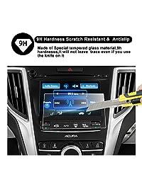 2015-2018 Acura TLX Pantalla ODMD Protector de pantalla táctil inferior de 7 pulgadas, R RUIYA HD Transparente CRISTAL TEMPLADO Guardia resistente a los arañazos Ultra HD Extreme Clarity