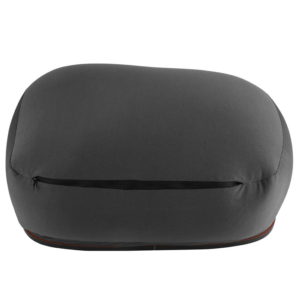 Zerodis Multifunction Portable Table Pillow Cushion Tray Desk for Sofa Bed Coffee Mobile Reading Book(Black)