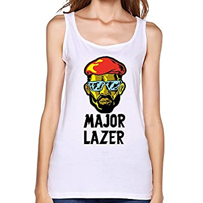 Major Lazer Lean On MØ & DJ Snake Free The Universe Soft Tank Top