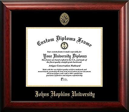 Amazon.com - Johns Hopkins University Graduation Diploma Frame (14 X ...