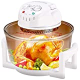 COSTWAY Infrared Halogen Convection Oven with Stainless Steel Extender...
