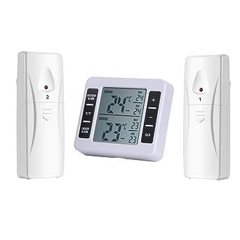 Termómetro del refrigerador,AZX,Digital LCD Termómetro de ...