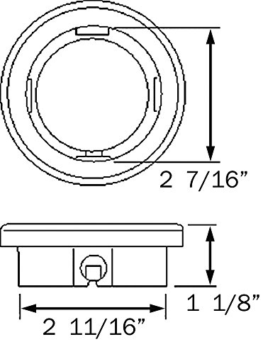 Optronics A57GKP Rubber Grommet