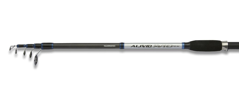 Shimano Alivio Slim TE GT Telescopic Spinning Fishing Carbon Rod
