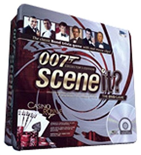 Screenife Scene It? James Bond Deluxe Tin - Poker Chip Money Clip