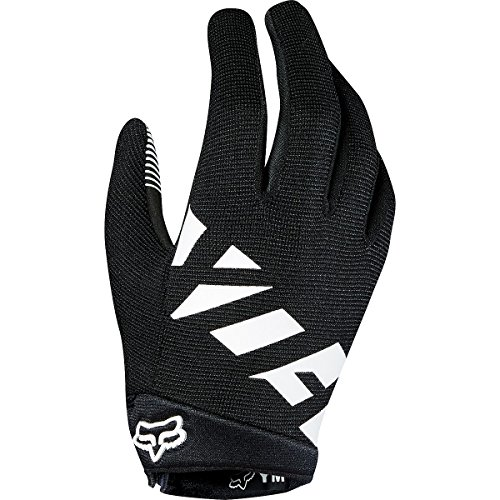 Child Black Ranger Gloves - Fox Racing Ranger Glove - Kids' Black/White, S