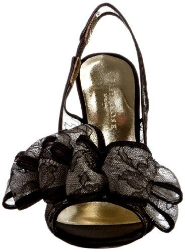Freya Rose Tahiti Boudior - Zapatos de tacón con plataforma Black