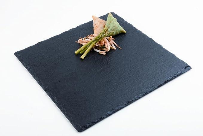 APS Naturschieferplatte ca 30 x 30 cm quadratisch Materialst/ärke 4-7 mm