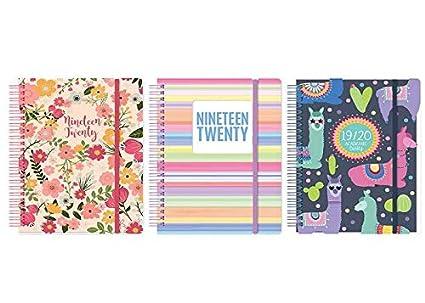 Tallon - Agenda escolar (A5, día por hoja), colores surtidos ...