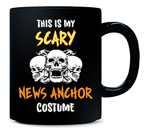 This Is My Scary News Anchor Costume Halloween Gift - Mug]()