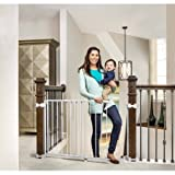 Baby : Regalo Top of Stairs Expandable Gate with Mounting Hardware