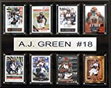 NFL Cincinnati Bengals A.J. Green 8-Card Plaque, 12 x 15-Inch