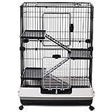 "PawHut 32""L 4-Level Indoor Small Animal Rabbit"