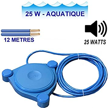 Aqua   Haut Parleur Aquatique De  Watts AmazonFr Instruments