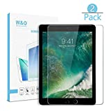 [2-Pack] W&O Glass Screen Protector Compatible for iPad Pro 9.7