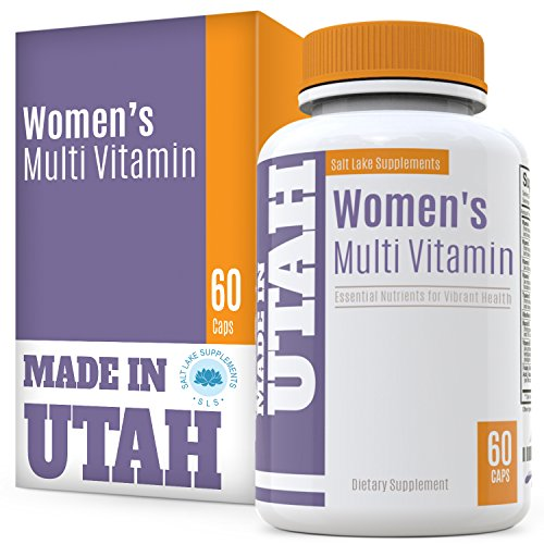 FLASH SALE - Multivitamins For Women With 20 Essential Vitamins & Minerals, And 18 Other Natural Antioxidants To Boost Your Immune System And Balance Your Overall Health & Nutrition