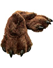 Wishpets Stuffed Animal Slippers - Soft Plush Toy Slippers for Kids and Adults