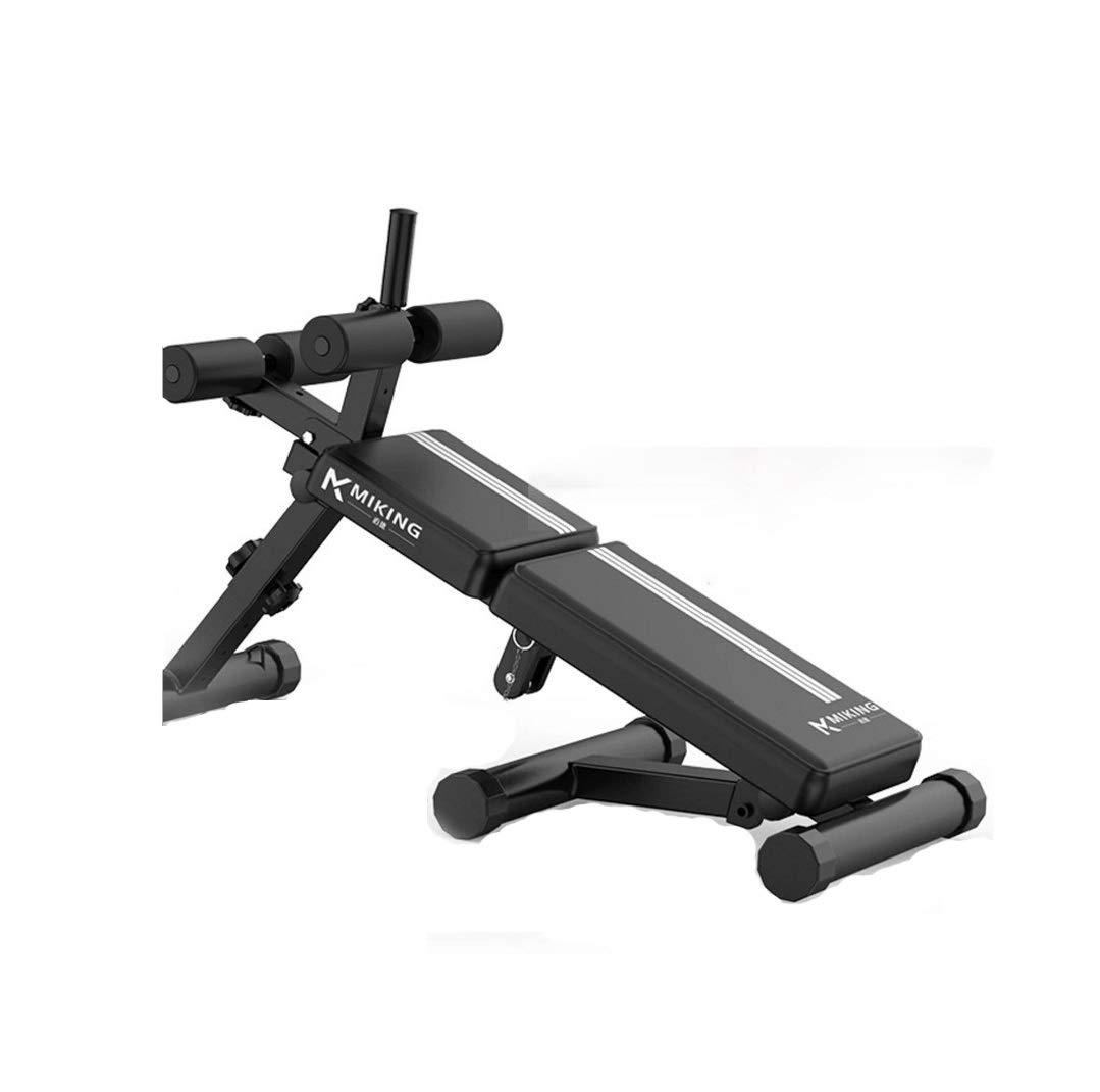 Chaopeng 多機能仰向けボード折りたたみ式腹部ボードホーム腹筋腹部チェア屋内ベンチプレスウェイトベンチ   B07QT3C1LP