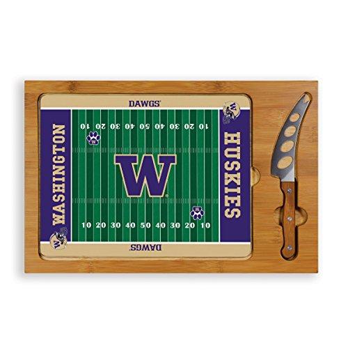 NCAA Washington Huskies Football Field Icon Cheese Set (3-Piece)