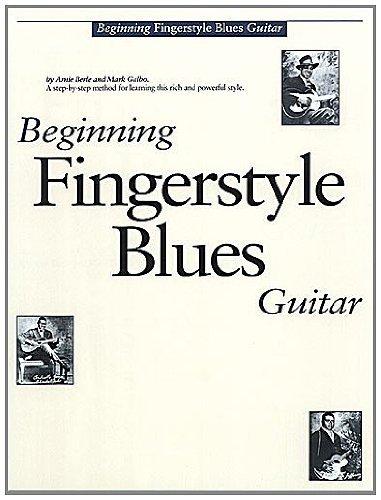 BEGINNING FINGERSTYLE BLUES GUITAR GTR BOOK/CD by Various (1993-06-30)