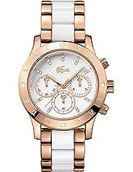 Lacoste Women's 2000911-CHARLOTTE White/Gold Watch