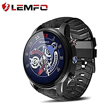 Amazon.com: LEMFO LEF3 Smart Watch - Android 7.1 GPS LTE 4G ...