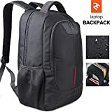 "15,6"" Notebook Laptop Backpack – Ideal as Business, Gaming Computer Laptop Backpack Bag or School Bookbag – Water, Scratch & Tear Resistant Material, Padded Back - Perfect for Women & Men"